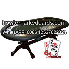 Poker Chips Tablett oval Schürhakentisch