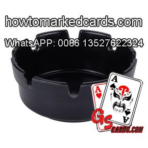 ashtray poker camera for analyzer system