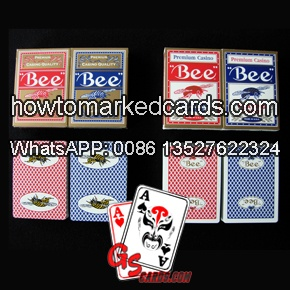 bee magic marked deck