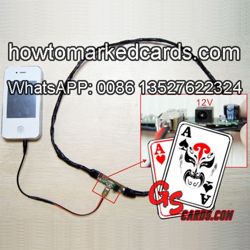 Intensificador de sinal para analisadorde baralho marcado