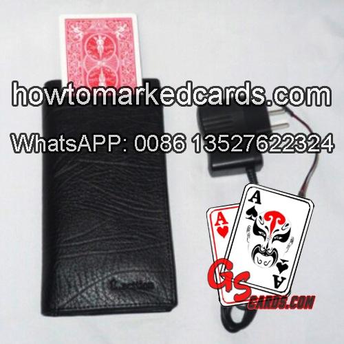 Carteira para trocar baralho de poker
