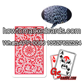Barcode Copag 1546 cards for poker decks reader