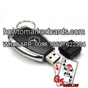 Benz car key marking barcode poker scanner
