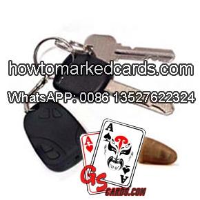 car key scanner for poker winner system
