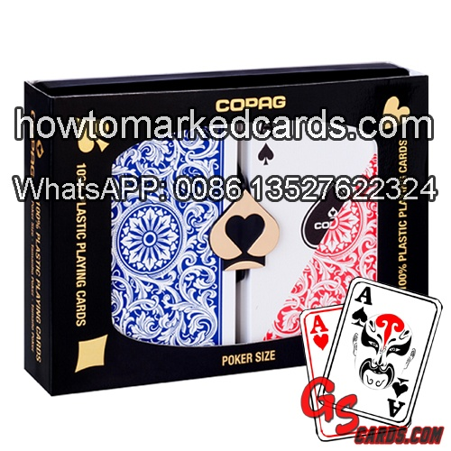 Copag 1546 Poker size cheating cards