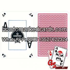 Copag Texas Holdem Dual Peek marking poker