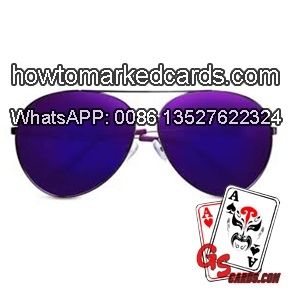 marked cards sunglasses
