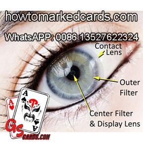 Infrarot Poker Kontaktlinsen