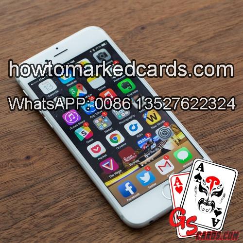 Iphone 6s Texas Holdem analisador de pôquer