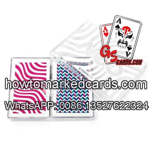Invisivel Copag Neo Wave baralho com cartas marcadas