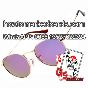 Omnipotent marked cards X ray sunglasses