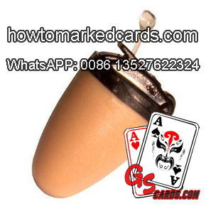 Mini earpiece for receiving poker games results