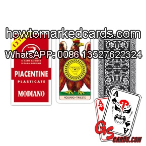 modiano marked gamble cards