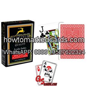 modiano platinum acetate marked cards