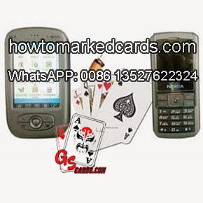 Nokia Handy Texas Poker Karten Scanner