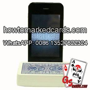luminous ink barcode playing cards analyzer software