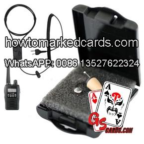 Hörmuschel für gezinkten Karten Kamera