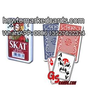 luminous marking Modiano Skat poker