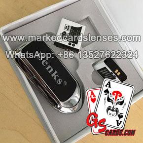 Cell Phone Finger Ring Stand Holder Poker Cheat Card Scanner