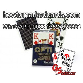 Casino Piatnik OPTI blue poker cards