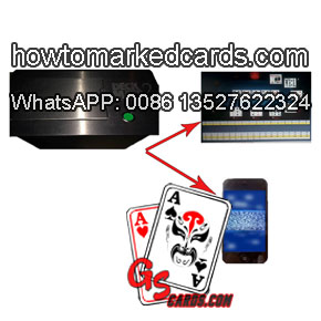 Scanning camera poker shuffler for poker winner analyzer