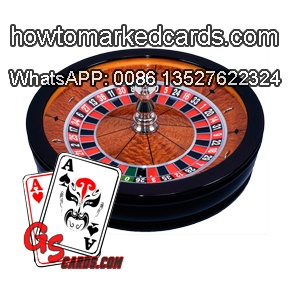 First-rate roulette wheel game set of GS