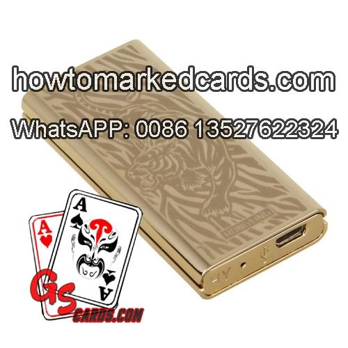 Sensor de baralho de poker de papel para baralho marcado não