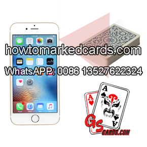 Iphone 6s Texas Holdem winner predictor scanning system