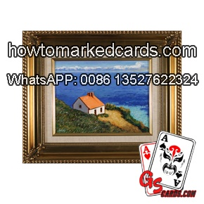 special ink marking poker wall frame photo camera
