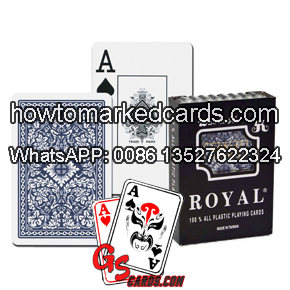 Contact lenses marked cards royal wide size plastic cards