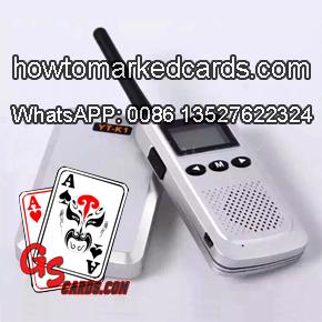 luminous ink cards walkie-talkie